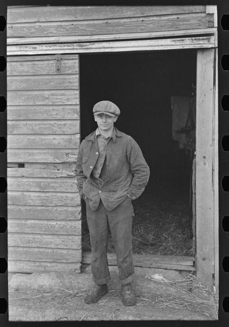 Russell Natterstad, renter of a 320 acre farm near Estherville, Iowa