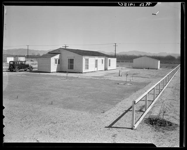 San Fernando homesteads, California