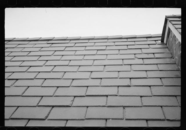 Slate roof, Greenbelt, Maryland