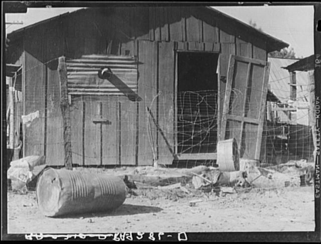 Slums of Brawley, California. Imperial Valley