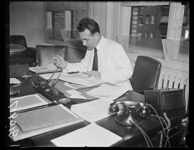 Social Security, Washington, D.C. Arthur J. Altmeyer, member of the Social Security Board