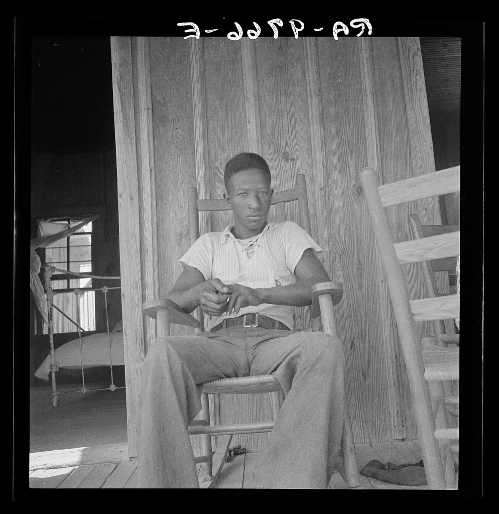 Son of an illiterate sharecropper. He wants a high school education. Near Earle, Arkansas