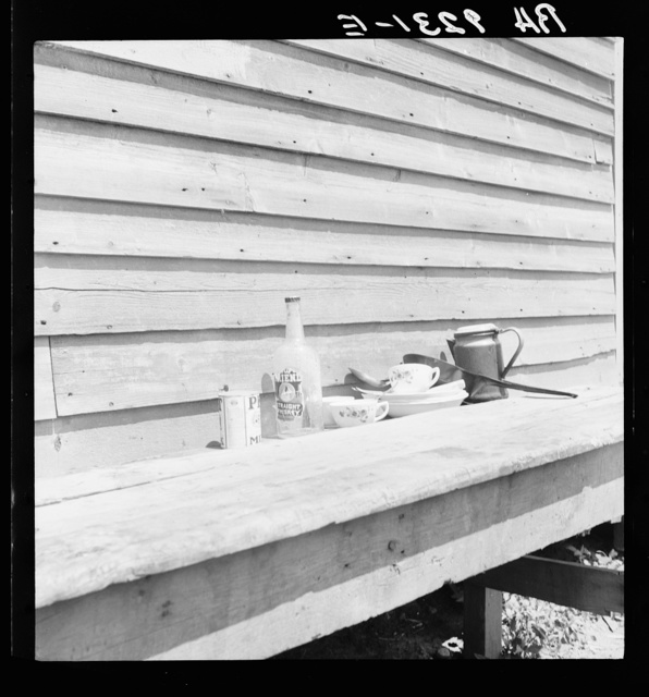 """Still life"" housing of migrant berry pickers in southern New Jersey"