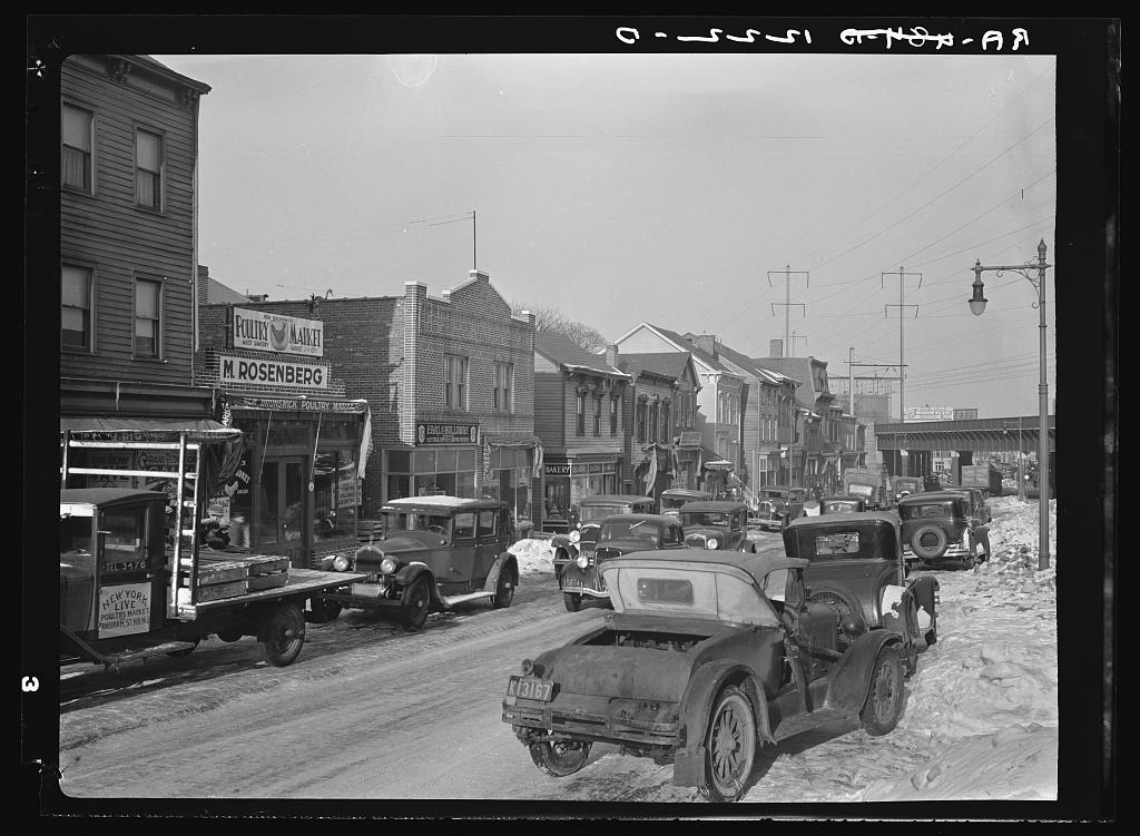 Street in New Brunswick, New Jersey