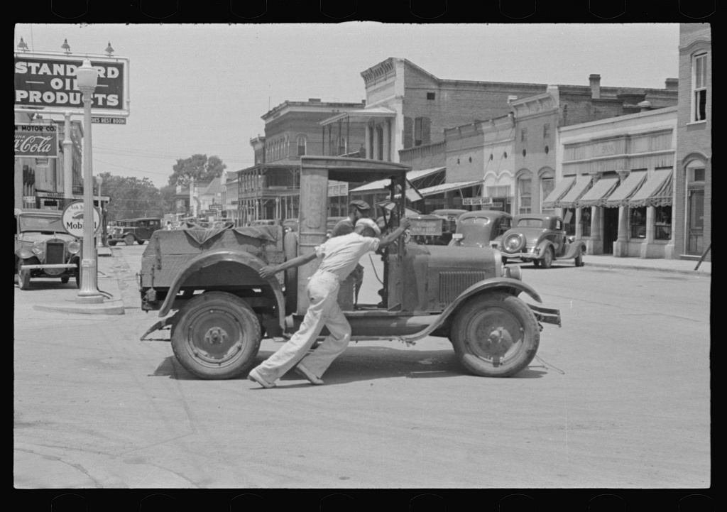Street scene, Greensboro, Alabama
