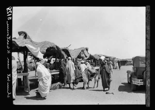 Sudan. Khartoum. Shambat village. The open air market
