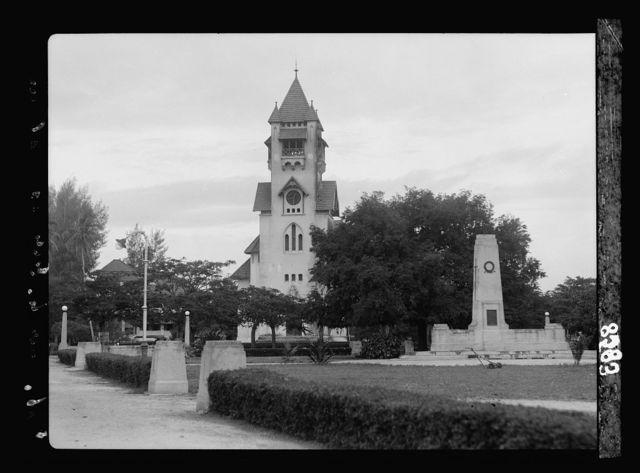 Tanganyika. Dar-es-Salem. The Protestant church