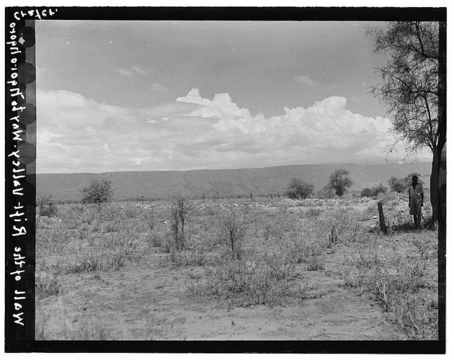 Tanganyika. Rift Valley. En route to Ngorongoro Crater crossing the Tanganyika section of the valley
