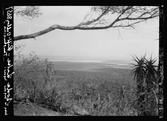 Tanganyika. Rift Valley. Soda lakes in the Rift Valley