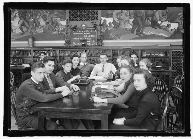 Tech High School students, [Washington, D.C.], c.1936