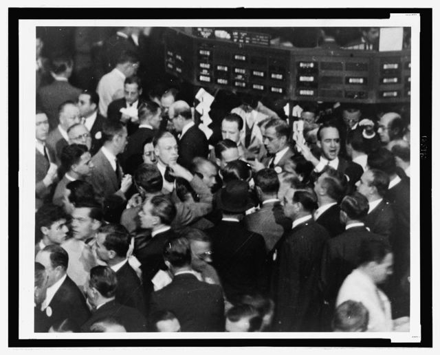 The market for the shares of United Corp., Atchison, Top. and Santa Fe Rwy. Co., Loew's Inc., and Celanese Corp.