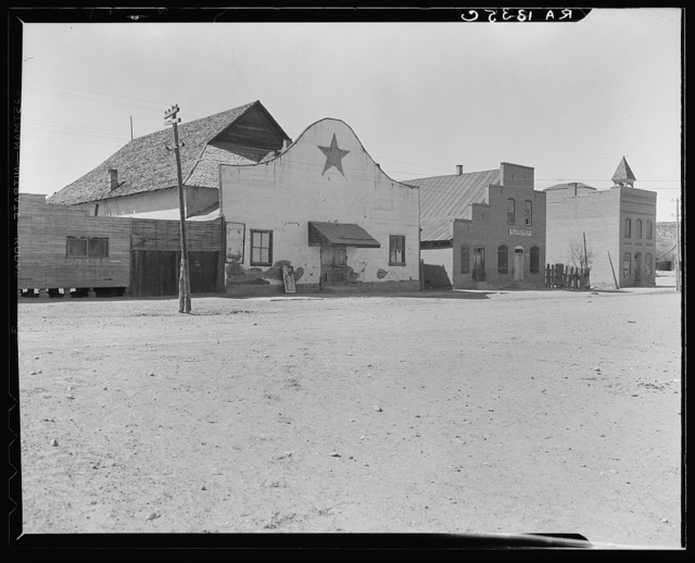 The movie theatre of Escalante, Utah