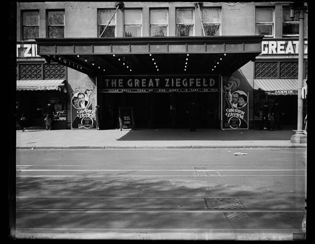 [Theater: The Great Ziegfeld]