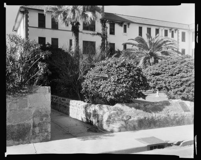 Treasury Street, Corner of Treasury & Bay, St. Augustine, St. Johns County, Florida