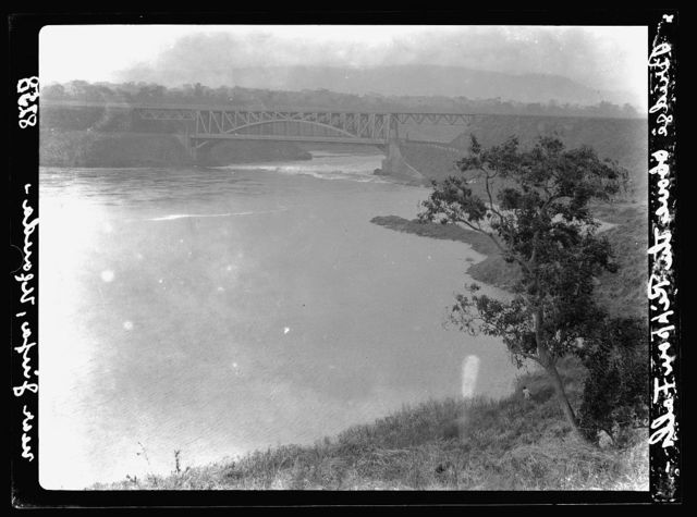 Uganda. Jinja. Bridge above the Rippon Falls on Victoria Nile
