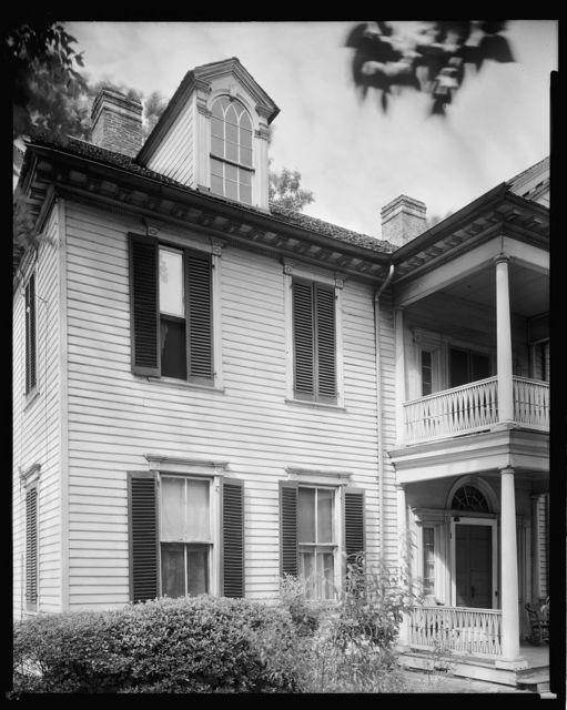 Unidentified house, Fayetteville, Cumberland County, North Carolina