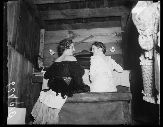 Virginia True (in black) and Betty Gray, Roadside Theatre