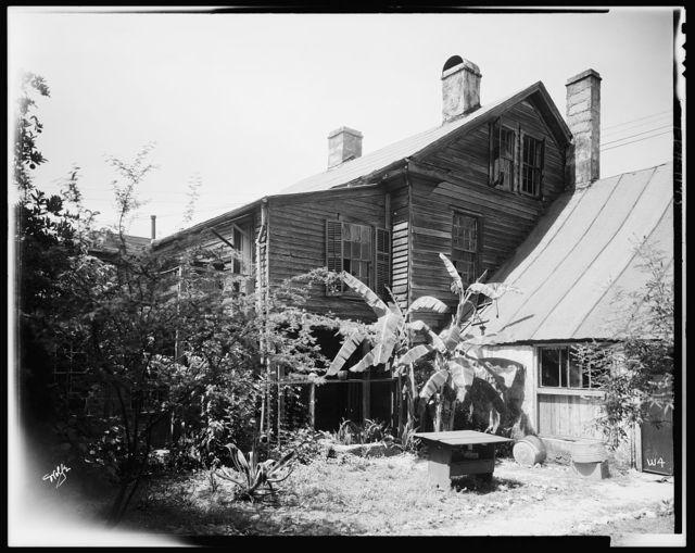 Watkins House, 52 St. George Street, St. Augustine, St. Johns County, Florida