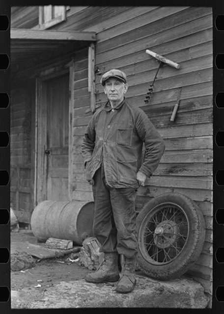 William McDermott, tenant on 120 acre farm owned by an estate, near Anthon, Iowa