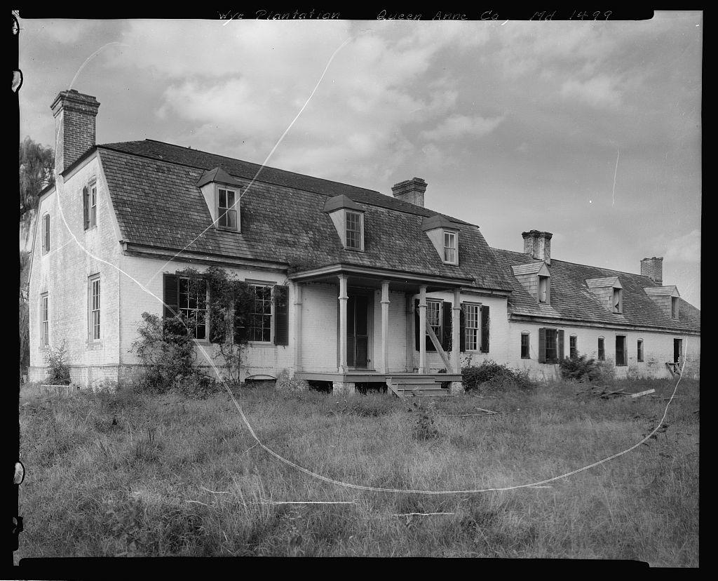 Wye Plantation, Queen Anne County, Maryland