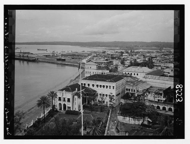 Zanzibar. Sultan's palace on the sea front