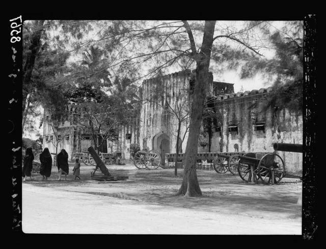 Zanzibar. The Portugese fort
