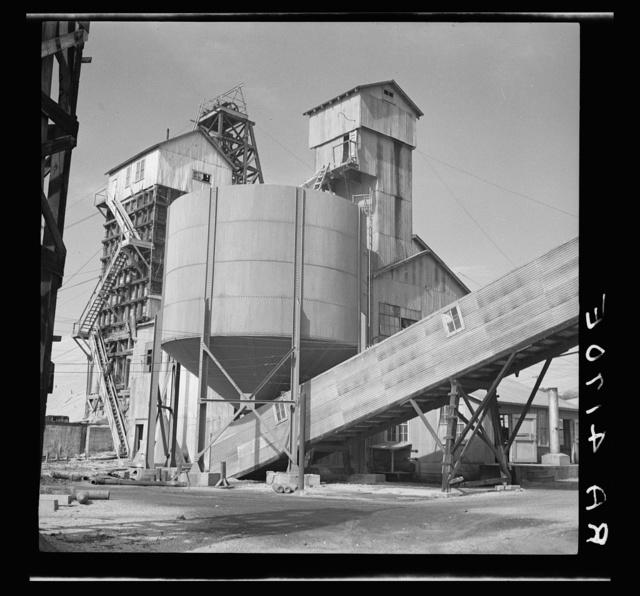 Zinc mine. Cherokee County, Kansas