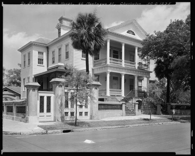 60 Montague St., Gaillard-Bennett House, Charleston, Charleston County, South Carolina