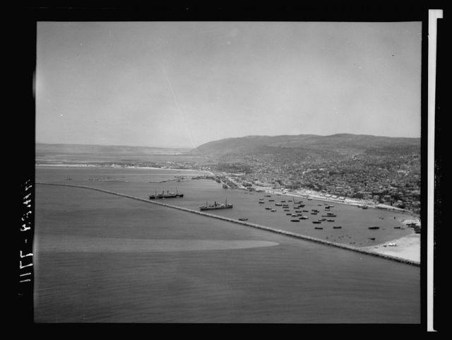 Air films (1937). Haifa Harbour, gen[eral] view