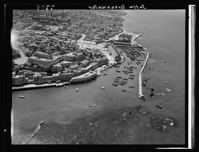 Air films (1937). Jaffa breakwater