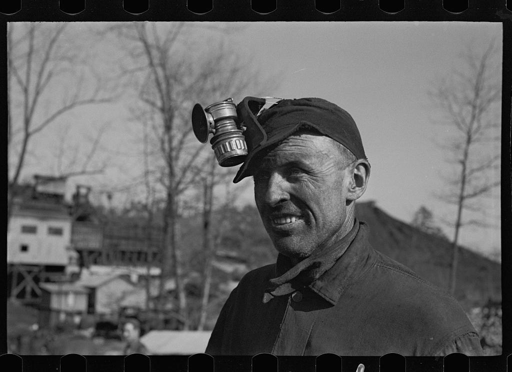 Alabama coal miner, Bankhead Mines, Walker County, Alabama