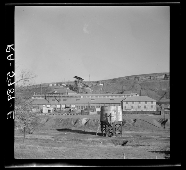 An iron ore mine near Bessemer, Alabama. Some of the Rehabilitation Administration homesteaders work here