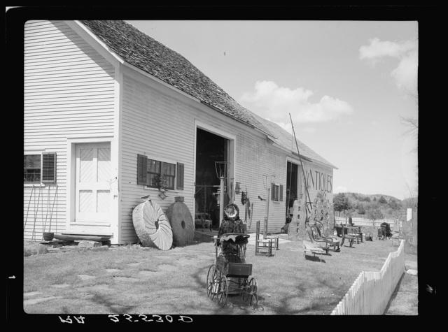 Antique shop. Windsor County, Vermont