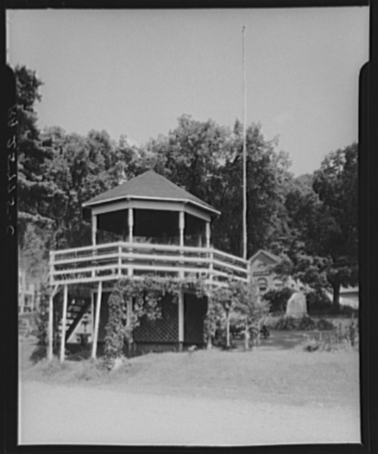 Bandstand. Bethel, Vermont