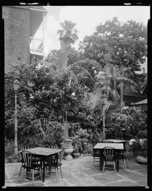 Broussard's patio, 815 Conti St., New Orleans, Orleans Parish, Louisiana