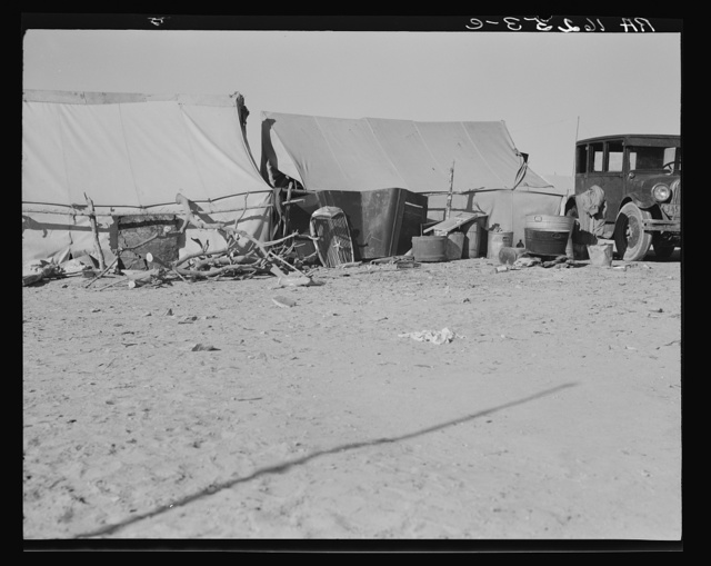 Camp of migratory workers. Imperial County, California