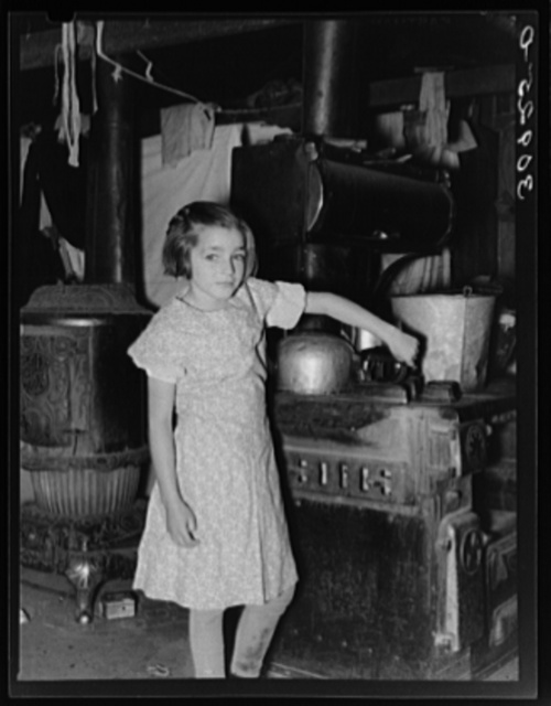 Child of John Harshenberger. Sheridan County, Montana
