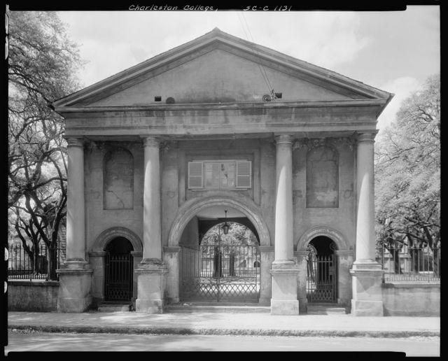 College of Charleston, 66 George Street, Charleston, Charleston County, South Carolina