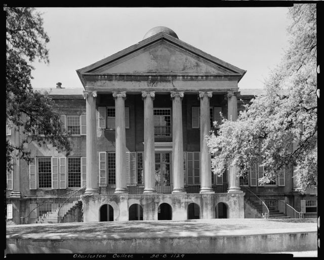 College of Charleston, 66 George Street, Charleston, Charleston County, South Carolina