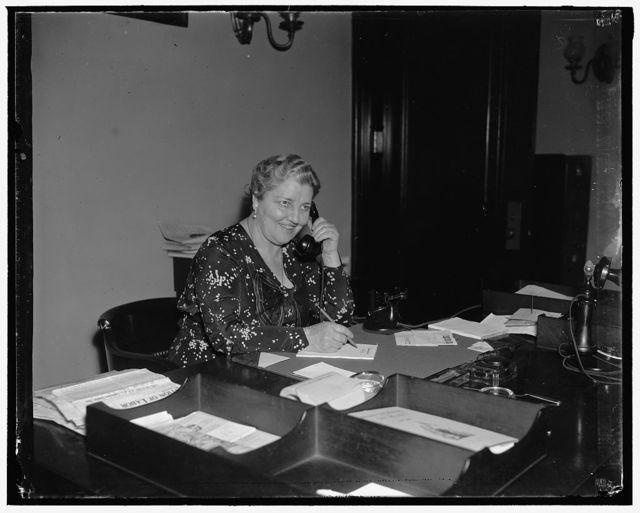 Cora Rubens, Secretary to Senator Bill Borah of Idaho