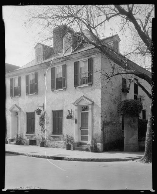 Coral Stone House, 143-145 Church St., Charleston, Charleston County, South Carolina