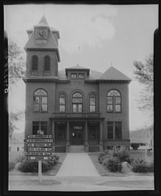 Courthouse. Lomoille County, Vermont