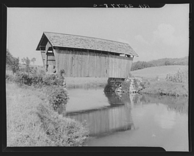 Covered bridge, Plainfield, Vermont