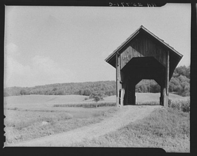 Covered bridge. Washington County, Vermont