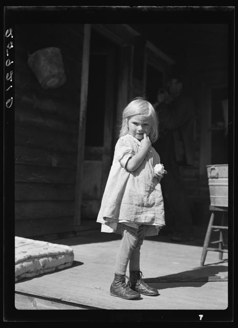 Daughter of Ellery Shufelt. Albany County, New York