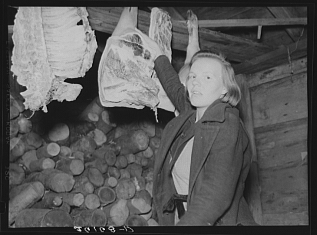 Daughter of Hugh Trumbull. Oswego County, New York