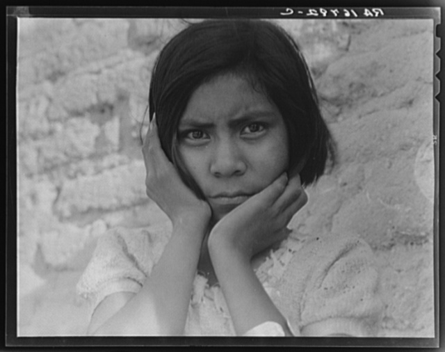 Daughter of Mexican field laborer. Near Chandler, Arizona