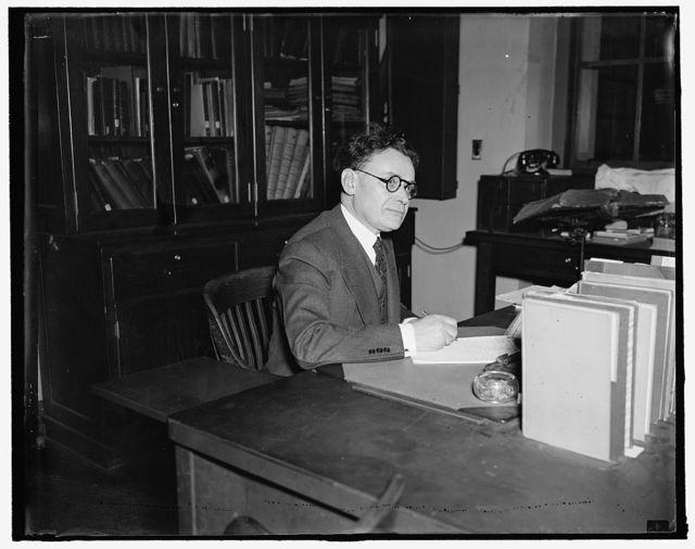 Dr. Ginsburg, Bureau of Fisheries, Dept. of Commerce