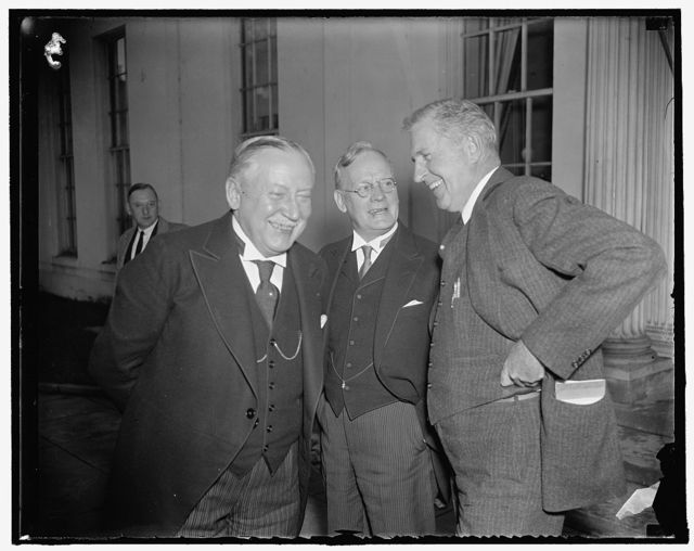 Duperry, Harris and Russ Young, at the White House