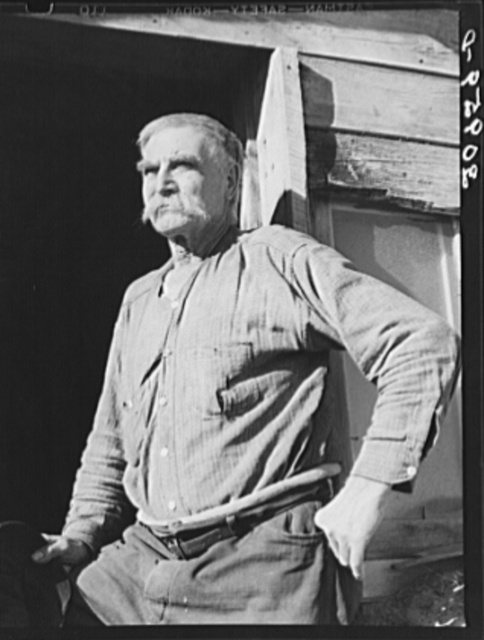 "Elmer ""Hominy"" Thompson, old timer of Sheridan County, Montana"